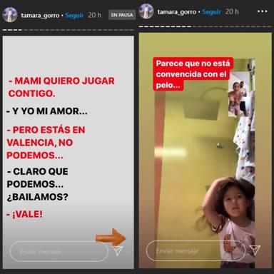 Tamara Gorro y Ezequiel Garay idean este juego para divertirse con sus hijos