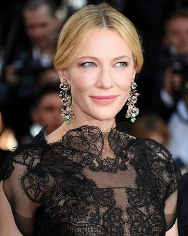 Cate Blanchett accidente motosierra