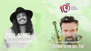 Paul Alone interpreta 'Mama' en el especial a Pau Donés 'Eso que tú me das, Pau'