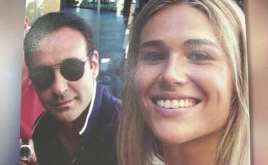 Enrique Ponce y Ana Soria juntos por primera vez
