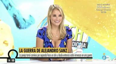 Alba Carrillo en Ya es mediodía Fonsi Nieto