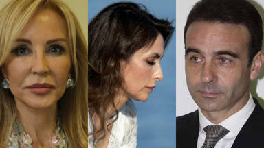 Paloma Cuevas Enrique Ponce y Carmen Lomana