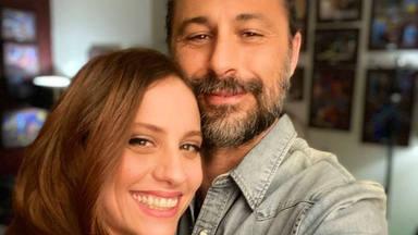 Michelle Jenner y Hugo Silva son una gran familia tras 'Los hombres de Paco'