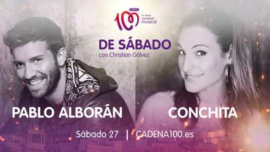 Pablo Alborán y Conchita son los invitados estrella en 'De Sábado con Christian Gálvez'