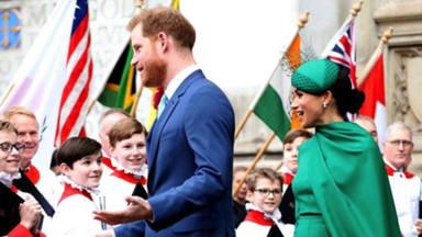 El príncipe Harry y Meghan Markle actualmente tienen entre manos un gran oso negro