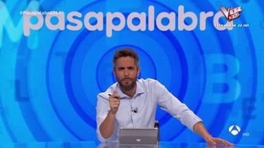 Caretas fuera: Las redes estallan contra Pablo Díaz por su estrategia para ganar siempre en Pasapalabra