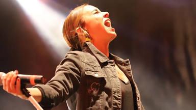 Chenoa triunfa en Palencia con su espectáculo y agradece el calor del público en sus redes sociales