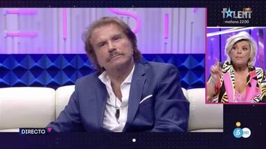 Tenso encontronazo en directo entre Terelu Campos y Bigote Arrocet por María Teresa y la ruptura de la pareja