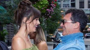 La emoción de Antonio Banderas al reencontrarse con Dakota Johnson