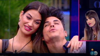 Estela Grande, Kiko Jiménez y Sofía Suescun en 'GH VIP 7'
