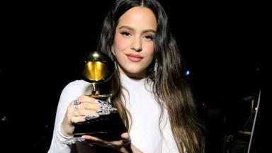 Rosalía, emocionada, ante su primer Grammy: ''Sin vosotros no hubiera llegado hasta aquí''