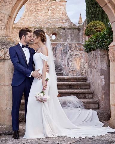 La boda de David Bisbal y Rosanna Zanetti