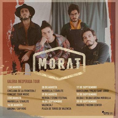 La gira Galería Inesperada de Morat