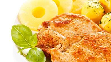 receta cuarentena: Pollo con piña bueno para el corazón y riñones