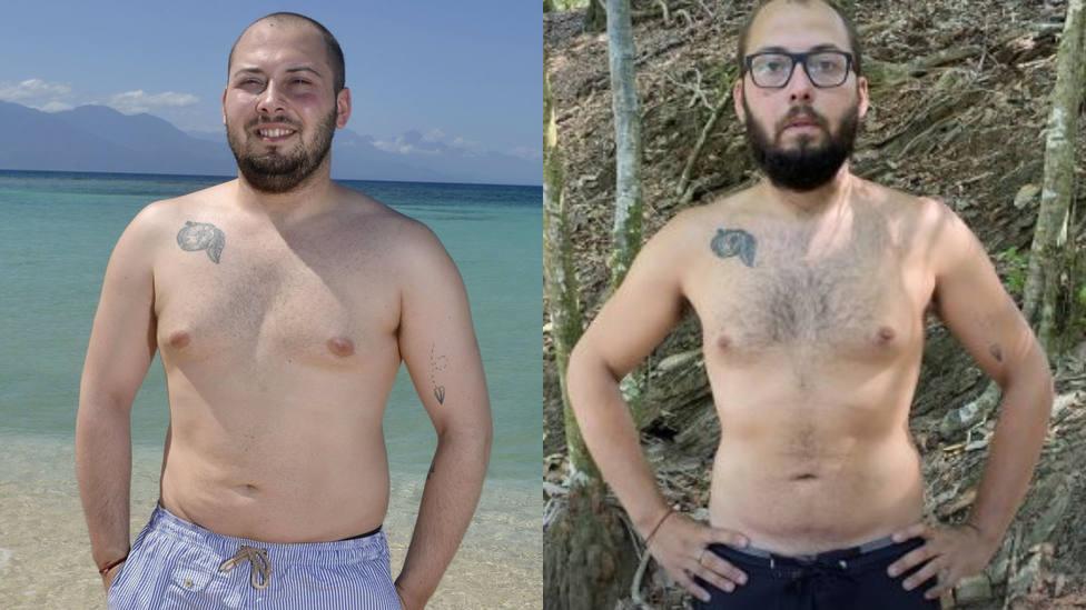 Los cambios físicos de los 'supervivientes' dos meses después de empezar el concurso - Televisión
