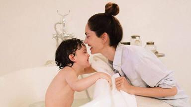 Eugenia Silva felicita a su hijo Jerónimo