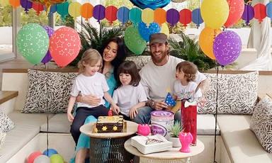Sergio Ramos y Pilar Rubio amplian la familia
