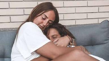 Emotiva felicitación Rocío Flores a su hermana Lola por su 8 cumpleaños
