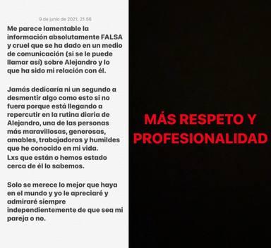 Los dos mensajes con los que Ester Expósito estallaba en sus redes sociales