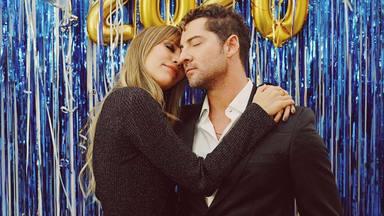 La tierna foto con la que Rosanna Zanetti ha felicitado a David Bisbal por sus 4 años de amor