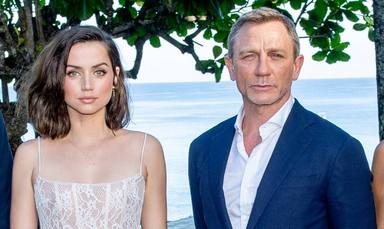 Ana de Armas y Daniel Craig, protagonistas de James Bond No Time To Die