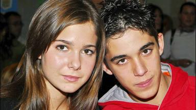 Natalia Sánchez y Víctor Elías siguen manteniendo su amistad 16 años después de 'Los Serrano'