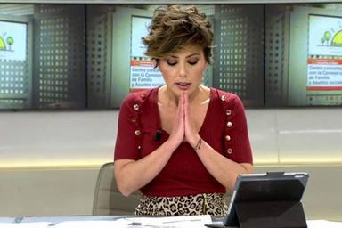La emocion de Sonsoles Ónega al informar sobre el coronavirus en 'Ya es mediodía'