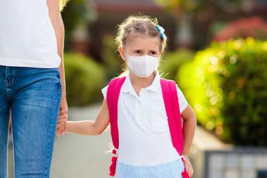 La mascarilla no será obligatoria en los niños para pasear