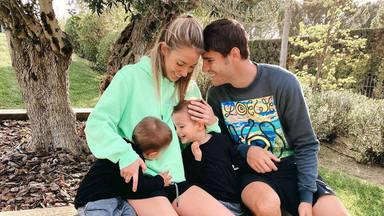 Alice Campello comparte un vídeo de sus hijos con sus abuelos