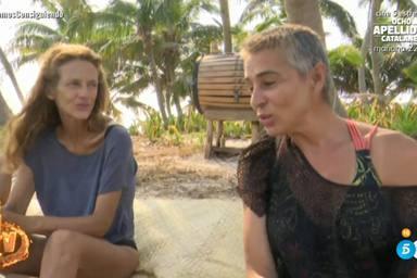 Supervivientes: Ana María Aldón habla con Elena Rodríguez
