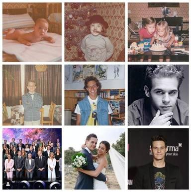 Christian Gálvez cumple 40 años y lo celebra con estas fotos de su álbum personal