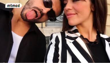 Violeta y Fabio bromean con la idea de casarse