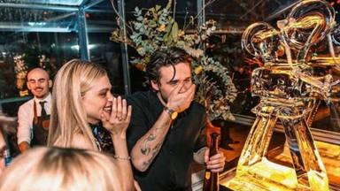 Brooklyn Beckham y su novia Nicole celebran su cumpleaños