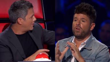 La voz: Alejandro Sanz y Pablo López error libreta