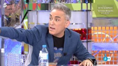 Kiko Hernández lanza una advertencia a Carmen Borrego: No hables más de mí