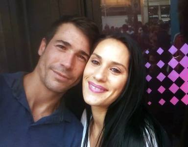 Juanjo Ballesta y su mujer