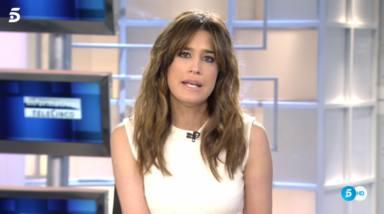 Así ha sido el emotivo reencuentro de Isabel Jiménez con David Cantero en su vuelta a 'Informativos Telecinco'