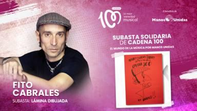 CADENA 100 y el mundo de la música se unen en una gran subasta solidaria por Manos Unidas