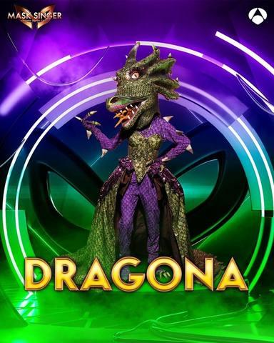 Dragona, una de las máscaras de Mask Singer 2