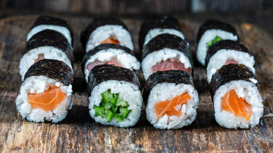 Preparar sushi casero