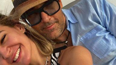 Laura Escanes y Risto Mejide celebran la final de su cuarentena con unas divertidas vacaciones
