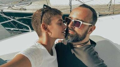 Laura Escanes y Risto Mejide durante sus vacaciones