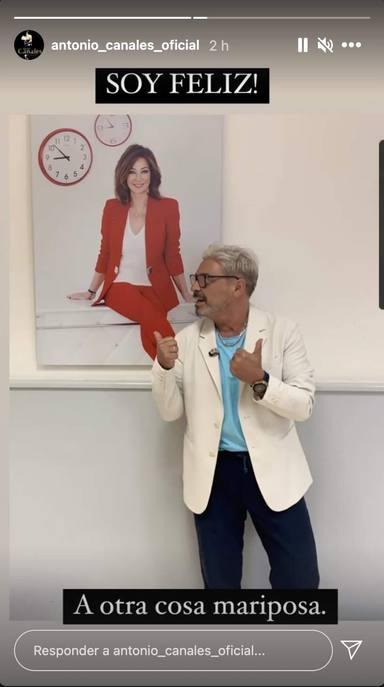 Antonio Canales celebra su fichaje por El programa de Ana Rosa tras su abrupta salida de Sálvame