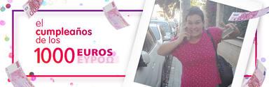 ¡Jenifer Marín de Almería ha ganado 1.000 euros!