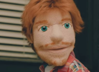 Ed Sheeran entra al trapo