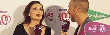 Entrevista a Luz Casal en CADENA 100 Por Ellas 2018