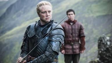Brienne de Tarth (Gwendoline Christie) en Juego de Tronos