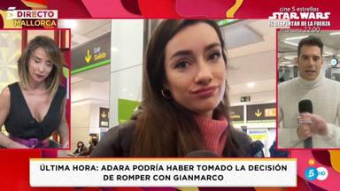 La sorprendente reacción de Adara Molinero ante su reencuentro en Palma de Mallorca con Hugo Sierra
