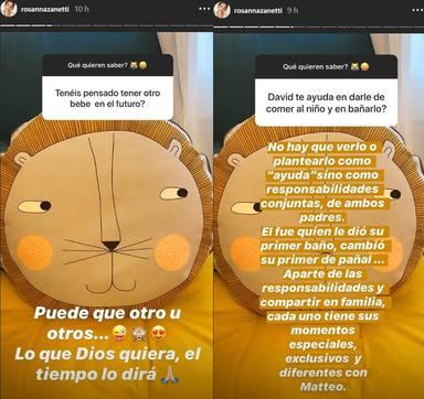 Bisbal y Rosanna responden a sus fans