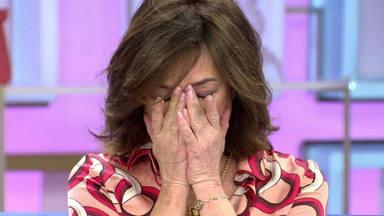 Ana Rosa Quintana rompe a llorar en directo